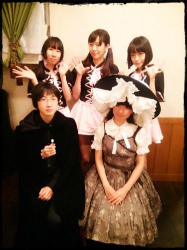 幻橙館 メイドさんと灯歌と蘇芳さん